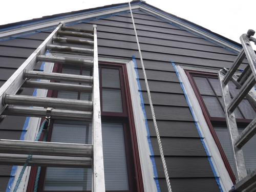 Seaside Exterior Paint Project