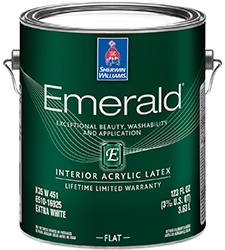 Sherwin Williams (Emerald) Interior And Exterior Paint Brands