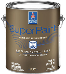 Sherwin Williams Superpaint Interior And Exterior Paint Brands